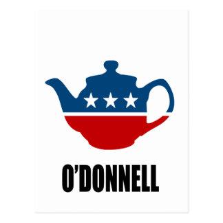 CHRISTINE O'DONNELL 2010 POSTCARD