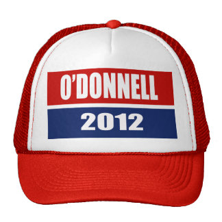 CHRISTINE O'DONNELL 2012 MESH HAT