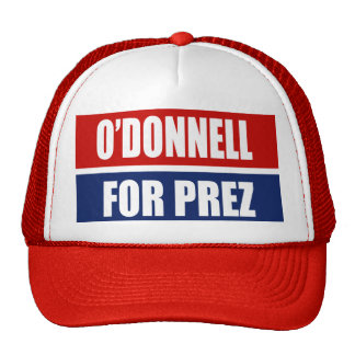 CHRISTINE O'DONNELL 2012 TRUCKER HAT
