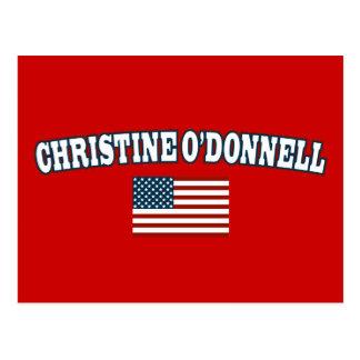 Christine O'Donnell for America Postcard