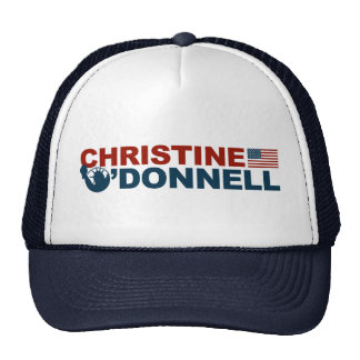 Christine O'Donnell for Liberty Trucker Hat