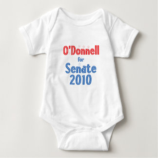 Christine O'Donnell for Senate 2010 Star Design Baby Bodysuit