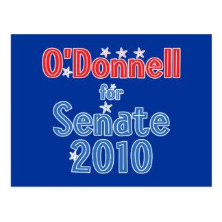 Christine O'Donnell for Senate 2010 Star Design Postcard