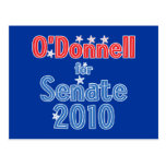 Christine O'Donnell para el diseño de la estrella Postal