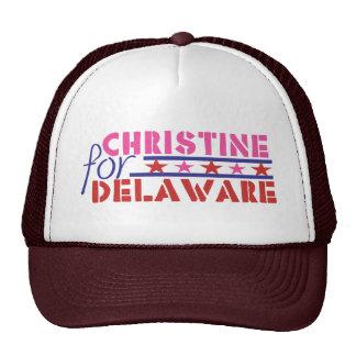 Christine O'Donnell para el senado de los E.E.U.U. Gorra