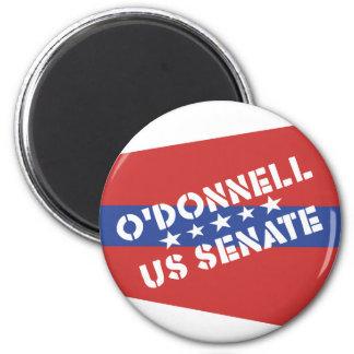 Christine O'Donnell para el senado de los E.E.U.U. Imán Redondo 5 Cm