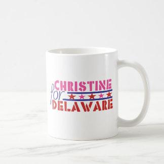 Christine O'Donnell para el senado de los E.E.U.U. Taza De Café