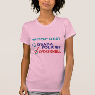 "Christine O'Donnell ""Witch"" One T-shirts"