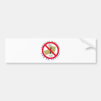 Christine para el senado etiqueta de parachoque