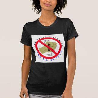 Christine para el senado camiseta