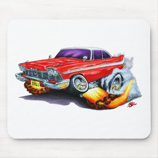 Christine Plymouth Fury Mouse Pad