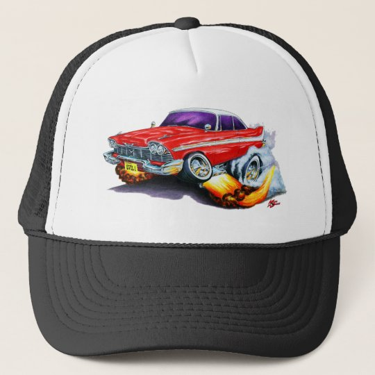 Christine Plymouth Fury Trucker Hat