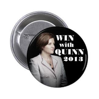 Christine Quinn for Mayor 2 Inch Round Button