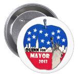 Christine Quinn para el alcalde de NYC en 2013 Pins