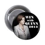 Christine Quinn para el alcalde Pin Redondo 5 Cm