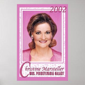 Christine - señora PA Posters