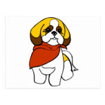 Christine's Pet Grooming Logo Postcard