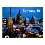 Christkindl_Market, _Nuremberg, _Bavaria, _Germany Postal