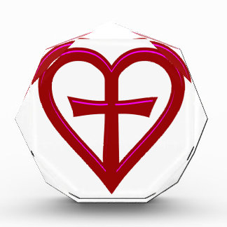 christliche Liebe christian love Acrylic Award