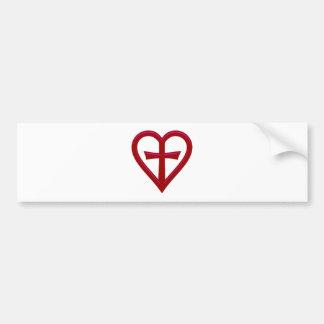 christliche Liebe christian love Bumper Sticker