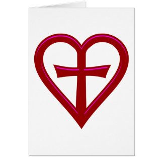 christliche Liebe christian love Card