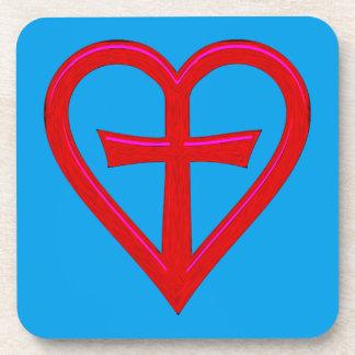 christliche Liebe christian love Coaster