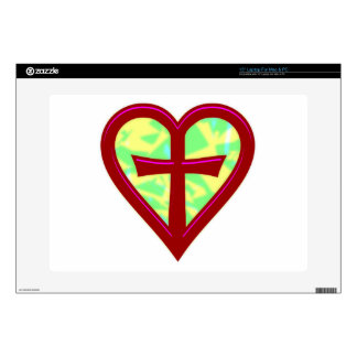 """christliche Liebe christian love Decal For 15"""" Laptop"""