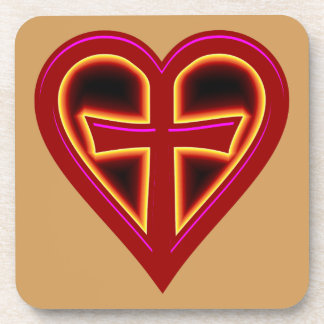 christliche Liebe christian love Drink Coaster