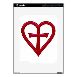 christliche Liebe christian love iPad 3 Skin