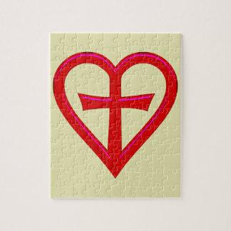 christliche Liebe christian love Jigsaw Puzzle