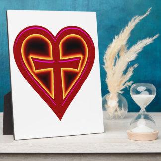 christliche Liebe christian love Plaque