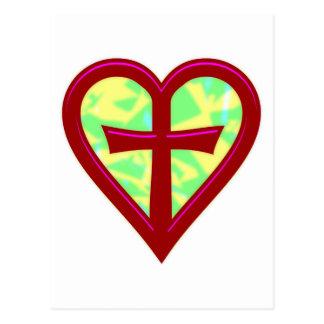christliche Liebe christian love Postcard