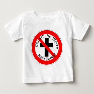 Christliche Werte — Nein Danke! Baby T-Shirt