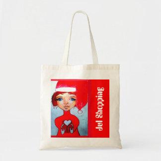 Christma shopping Budgetkasse Tote Bag