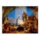 Christma short, the stable in Betlehem Postcard