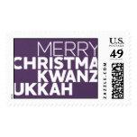 Christmakwanzukkah - Majestic Stamp