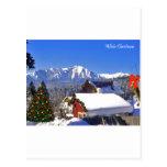 christman postcard