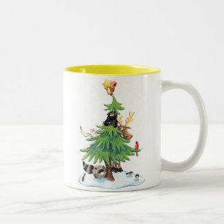 Christmas05 Two-Tone Coffee Mug