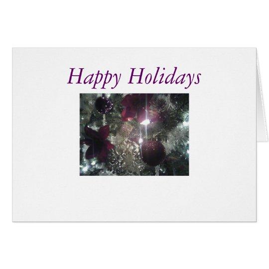 christmas5, Happy Holidays Card