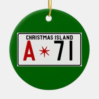 Christmas72 Ceramic Ornament