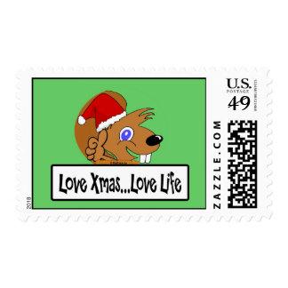 Christmas 03 postage stamps