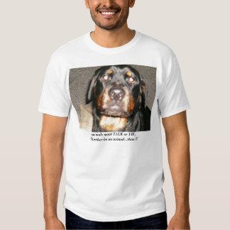 christmas 043, animals wont TALK or LIE,I'd rat... T Shirt
