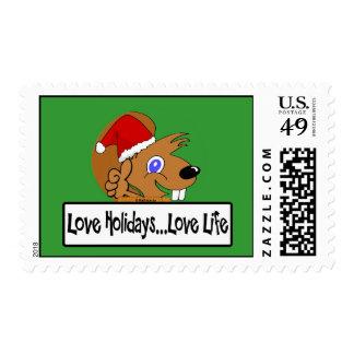 Christmas 07 postage stamps
