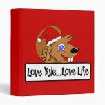 Christmas 09 3 ring binder