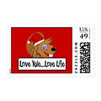 Christmas 09 stamp