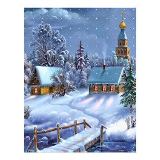 Christmas 1376 letterhead design