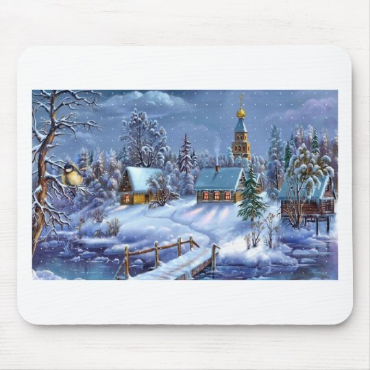 Christmas 1376 mouse pad