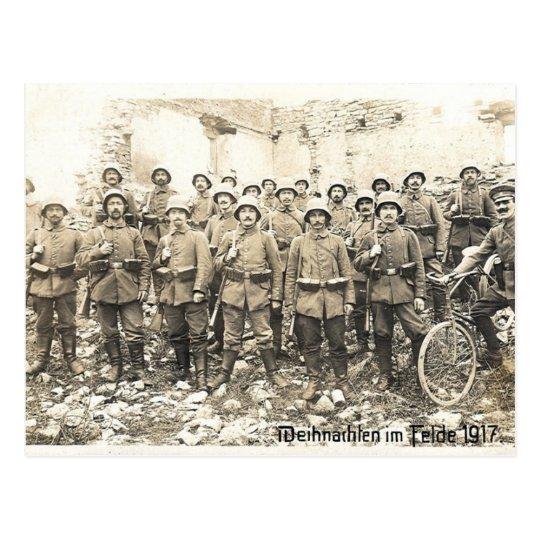 Christmas 1917 postcard
