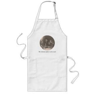 Christmas 1946 long apron