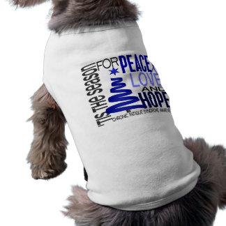 Christmas 1 CFS Chronic Fatigue Syndrome Pet Shirt